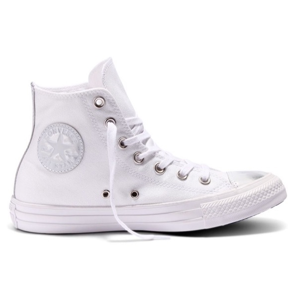 Converse Shoes   All Star White Hi Top